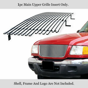 Fits 2001 2003 Ford Ranger Xlt 4wd ranger Edge Billet Main Upper Grille