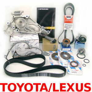 Premium Timing Belt Kit Water Pump Seals Tensioner Pulley Drive Hydrallic 4 7 V8