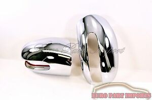 Mercedes Benz W211 E Class Up To 05 2006 Chrome Side Mirrors Cover Set Of 2
