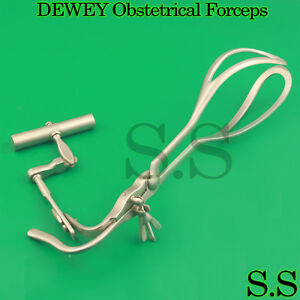 Dewey Obstetrical Forceps Gynecology Medical Surgical