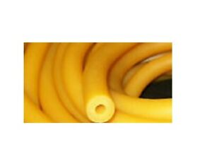 10 Continuous Feet 1 4 I d X 3 16 Wall X 5 8 O d Latex Rubber Tubing Amber