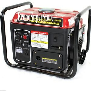 1200w Watt 2 Hp 63cc Gasoline Gas Power Generator W epa