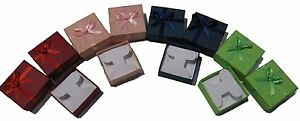 Wholesale 72 Assorted Earring Tree Colors Pendant Jewelry Gift Boxes