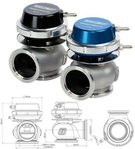 Turbosmart Comp gate 40mm External Wastegate blue