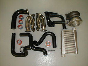 5 0 Single Turbo System Turbocharger Race Headers