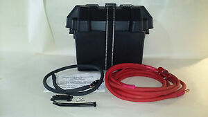 Universal Trunk Mount Battery Relocation Kit 2 Gauge Made In The Usa New