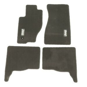 05 10 Jeep Grand Cherokee 06 10 Jeep Commander Dark Khaki Carpet Floor Mats Oe