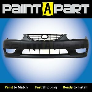 2001 2002 toyota Corolla Front Bumper Cover premium Painted