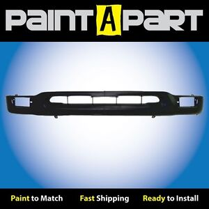 2001 2002 2003 2004 Toyota Tacoma 2wd Front Bumper Cover Premium Painted