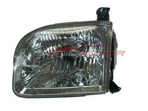 For 2001 2004 Toyota Sequoia 2004 Toyota Tundra Driver Side Headlight Lh