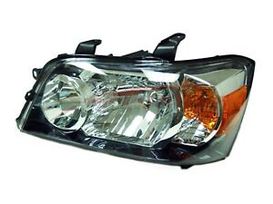 For 2004 2006 Toyota Highlander Driver Side Headlight Head Lamp Lh