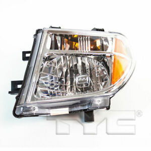 For 05 08 Nissan Frontier 2005 2007 Pathfinder Driver Side Headlight Lh