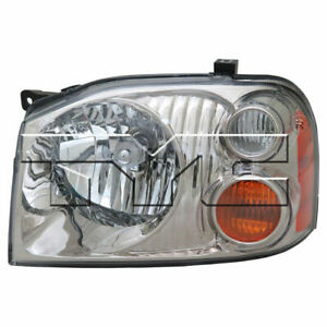 For 2001 2004 Nissan Frontier Pickup Headlight Head Lamp Driver Side Lh