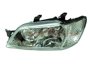 For 2002 2003 Mitsubishi Lancer Driver Side Headlight Head Lamp Lh