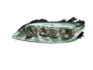 For 2003 2005 Mazda 6 Driver Side Headlight Head Light Lamp Lh W Fog Light