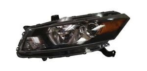 For 2008 2009 Honda Accord Coupe Driver Side Headlight Head Light Lamp Lh