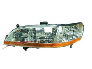 For 2001 2002 Honda Accord Driver Side Headlight Head Light Lamp Lh