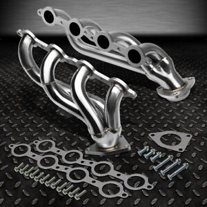 For 02 16 Chevy Silverado Stainless Steel Perofrmance Exhaust Header Manifold