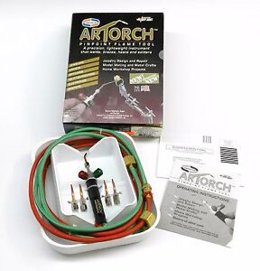Artorch Little Torch Uniweld Torch Metalcrafts Kit W 5 Tips Jewelry Soldering