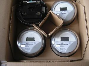 Itron Watthour Meter kwh C1s c1sr Centron 240v 200a Form 2s Lot Of 4