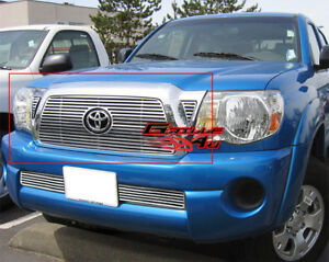 For 05 10 Toyota Tacoma Perimeter Cnc Cut Billet Grille Insert