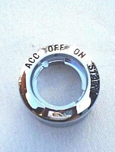 1965 65 Ford Fairlane Ignition Switch Bezel New