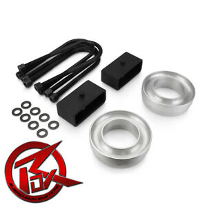 Chevrolet C1500 1988 1999 Complete 3 Inch Front 3 Rear Full Lift Kit 2wd 4x2