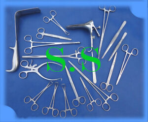 Gynic Surgical Instruments Set Ds 1000