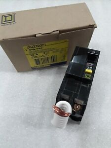 Square D Qo230gfi New In Box Ground Fault Plugin Circuit Breaker 2p 30a 120 240v