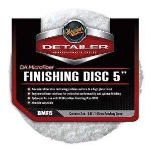 Meguiars Dmf5 Da Microfiber Finishing Pad 5 2 Pack