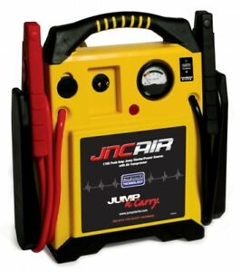 Jump N Carry 12 Volt Jump Starter Air Compressor Power Source Soljncair New