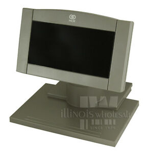 Ncr 7454 Integrated Customer Display Low Post New