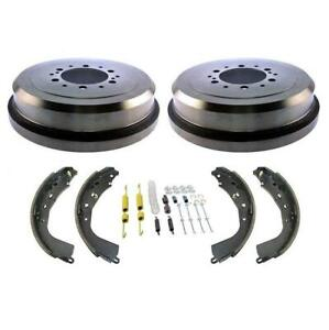 100 Brand New Rear Brake Drums Brake Shoes Spring Kit For Toyota Tundra 03 06