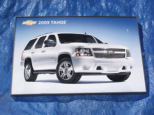 2009 Chevy Tahoe Dealership Showroom Framed Color Picture Original Gm Very Nice