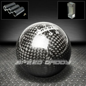 Universal Nrg Racing Manual 5 Speed Mt Ball Shift Knob Mit Bmw Gmc Carbon Fiber