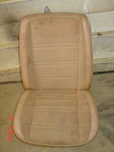 Tan Jeep J10 J20 Wagoneer Cherokee Seat Low Back Bucket Frame Passengers Side Rh