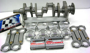 Bbc Chevy 572 Rotating Assy Forged Pistons Forged 6 600 H Beam Rods 2 Pc Seal