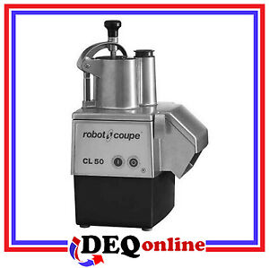 Robot Coupe Cl50e Vegetable Slicer Food Processor