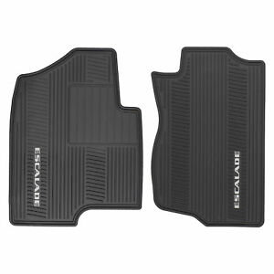 Oem New Front All Weather Rubber Floor Mats Black W Logo 07 14 Escalade 17803323