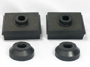 1952 58 Lincoln Engine Motor Mount Set Of 4 New