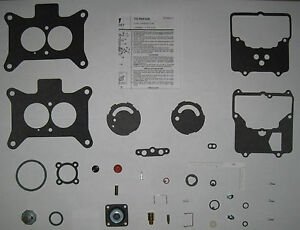 Ford Motorcraft Autolite 2100 2v Carburetor Premium Kit 260 289 302 351 390 427