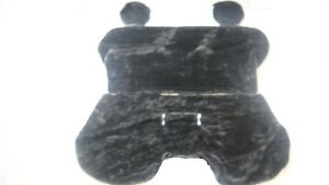 Grey Fur Seat Cover Ford Courier mazda Bravo 1999 2006 no Arm Rest