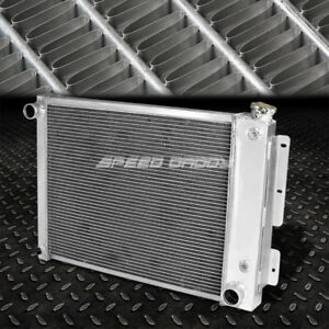 3 row Aluminum Core Racing Radiator For 67 69 Chevy Camaro pontiac Firebird Mt