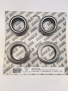 Case Ih Wheel Bearing Kit For Case 1530 1700 1830 Series Skid Loaders