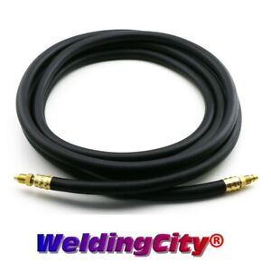 Tig Welding Power Cable Gas Hose 57y03r Rubber 25 Torch 9 17 Us Seller Fast
