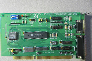 Used Alnor Pcl 740 Current Loop Card Rs 232 422 485