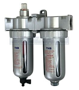3 8 Compressed Air Inline Filter Desiccant Dryer Combination