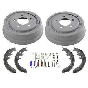 Rear Brake Drums Brake Shoes For Ford F150 With 5 Studs 1997 1999