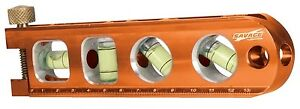Swanson Tl041m 6 Pack 6 1 2 inch Heavy duty Magnetic Torpedo Level
