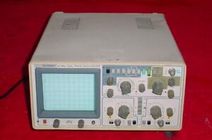Bel Merit 3315 Dual Trace 40mhz Oscilloscope Analog 2channel